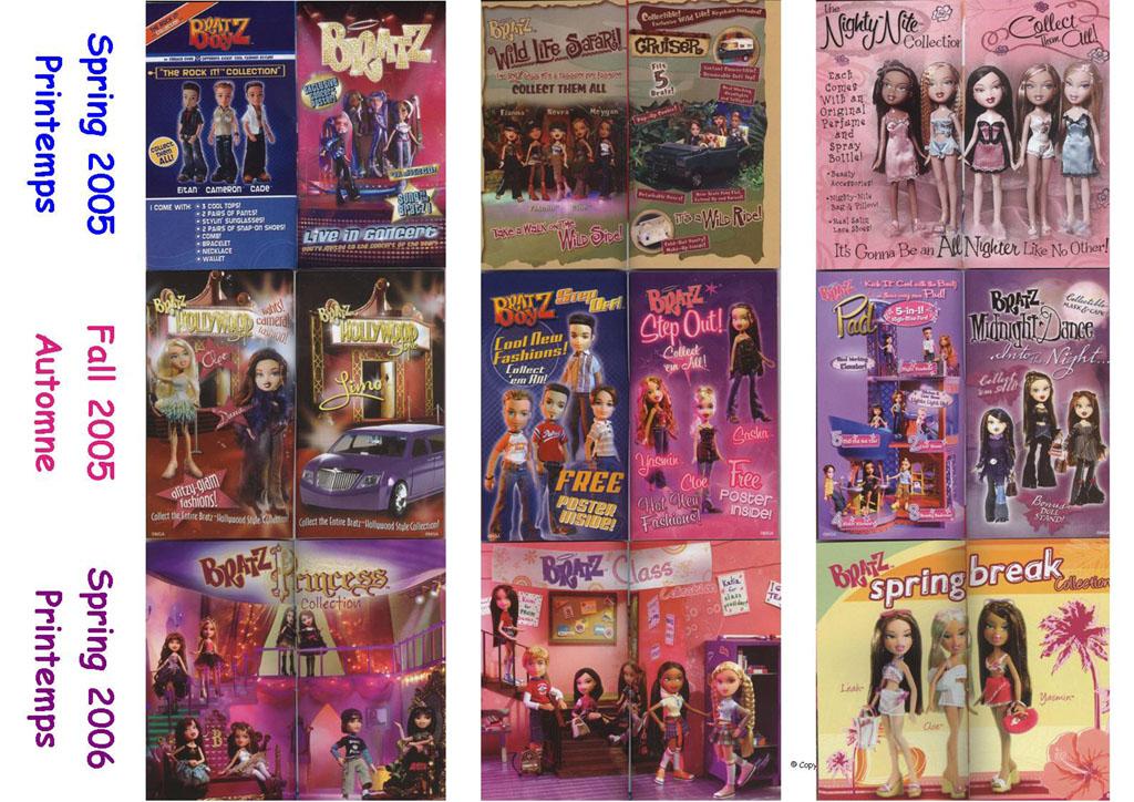 Bratz Catalogue Printemps Et Automne 2005 Printemps 2006